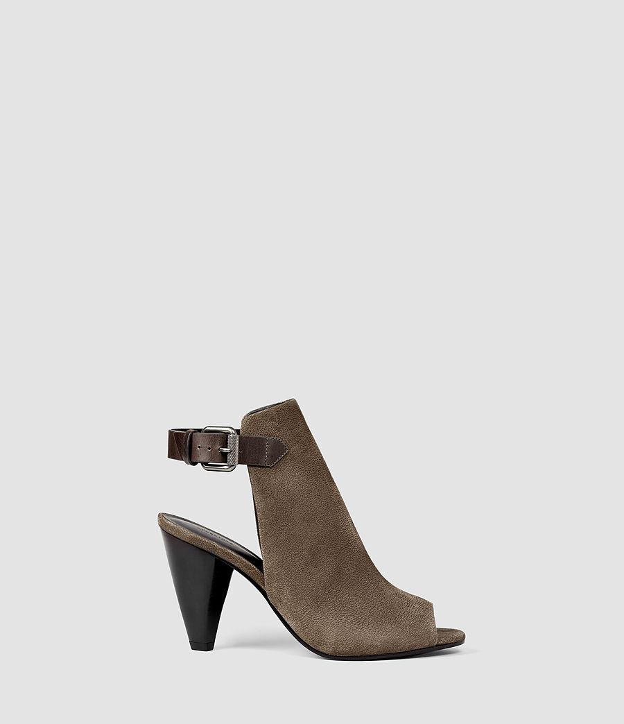 Mujer Branson Heel (dark_khaki_green) - Image 1