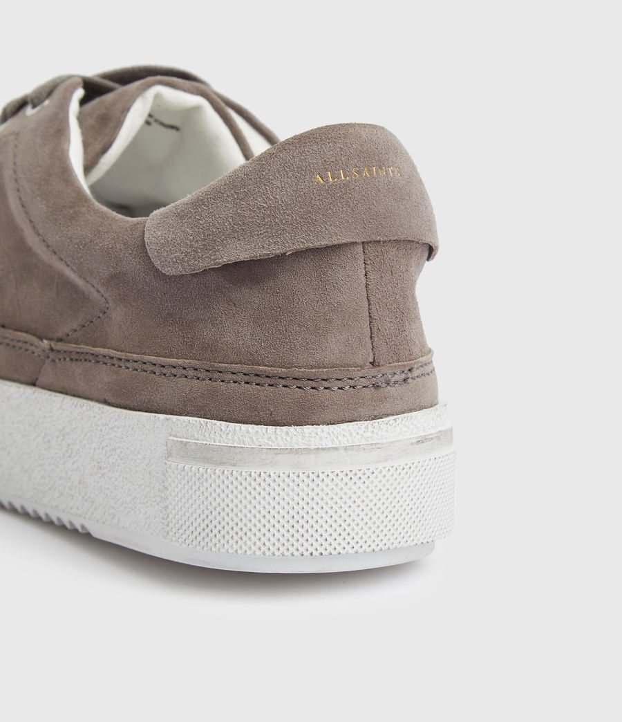 Women's Trish Suede Trainers (ash_grey) - Image 2