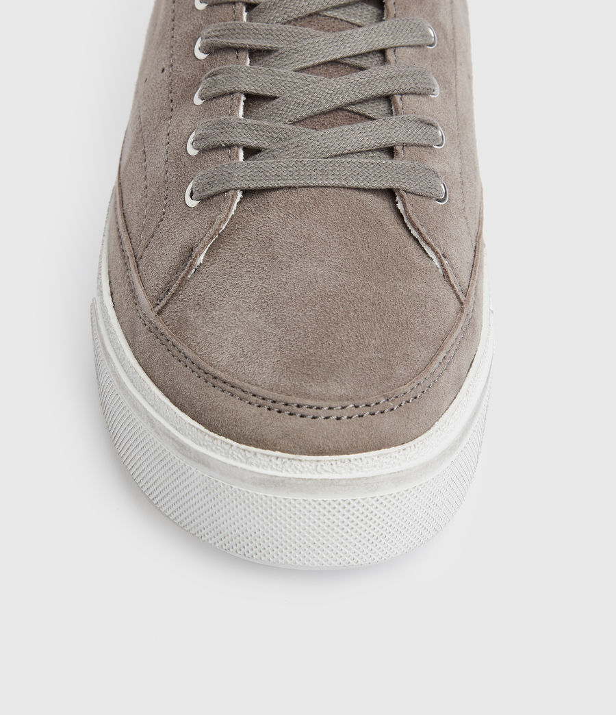 Women's Trish Suede Trainers (ash_grey) - Image 4
