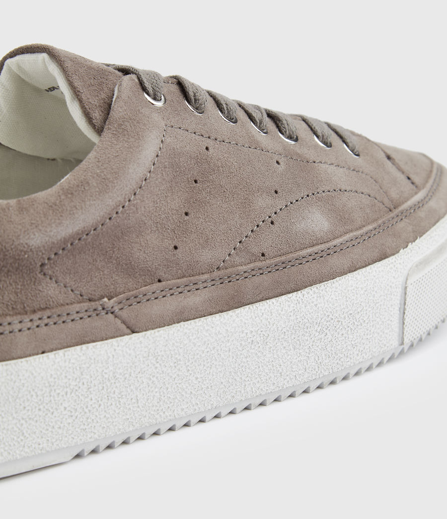 Women's Trish Suede Trainers (ash_grey) - Image 5