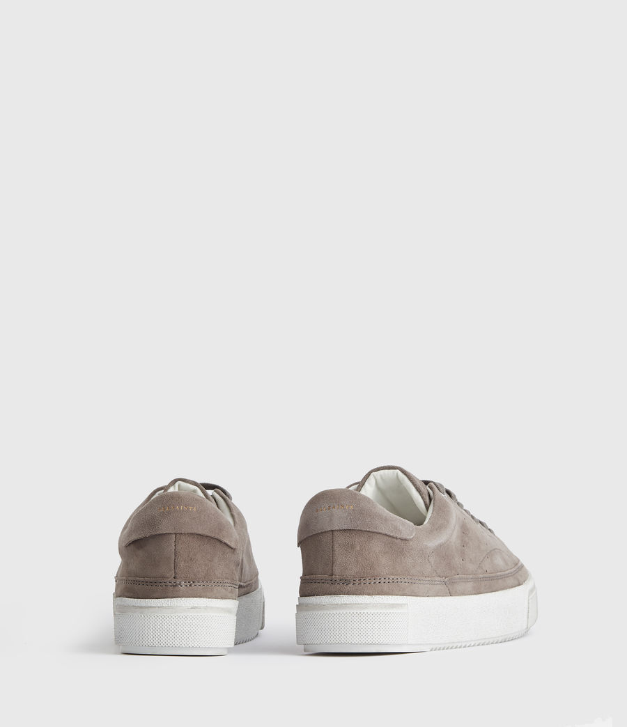 Women's Trish Suede Trainers (ash_grey) - Image 6
