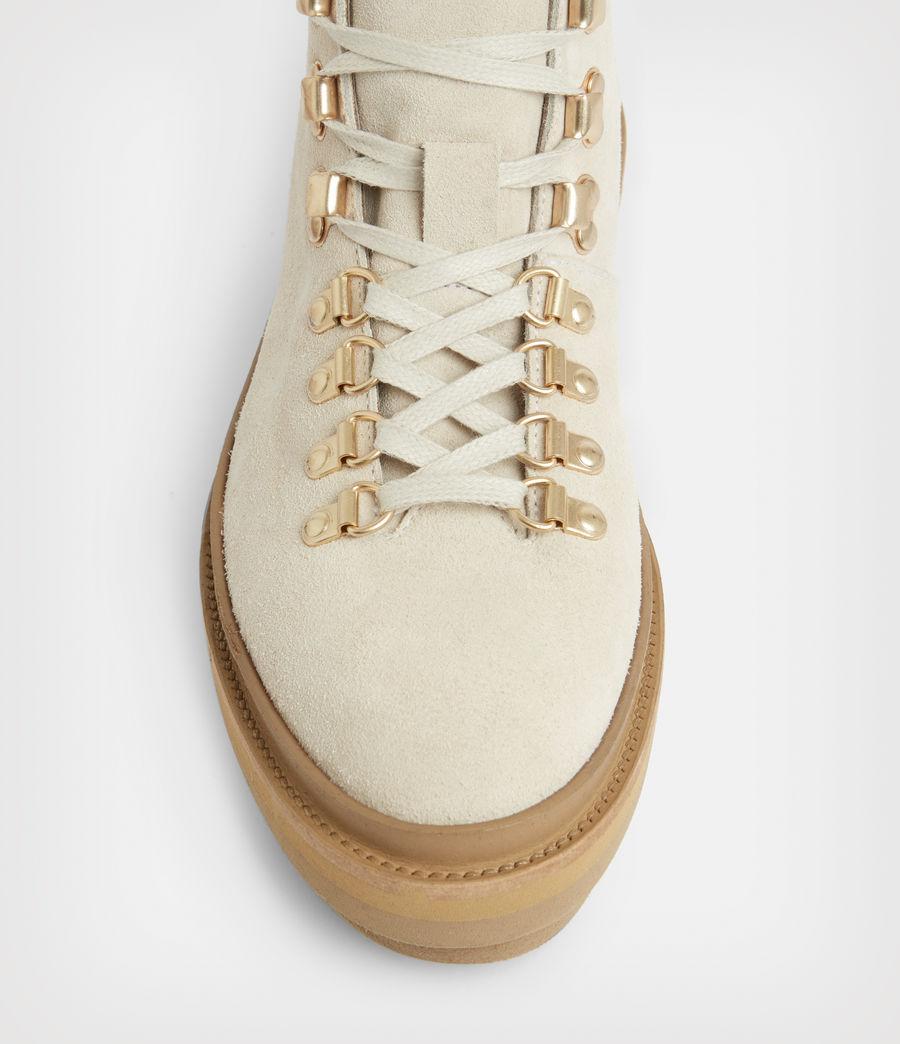 Women's Wanda Suede Boots (white) - Image 2
