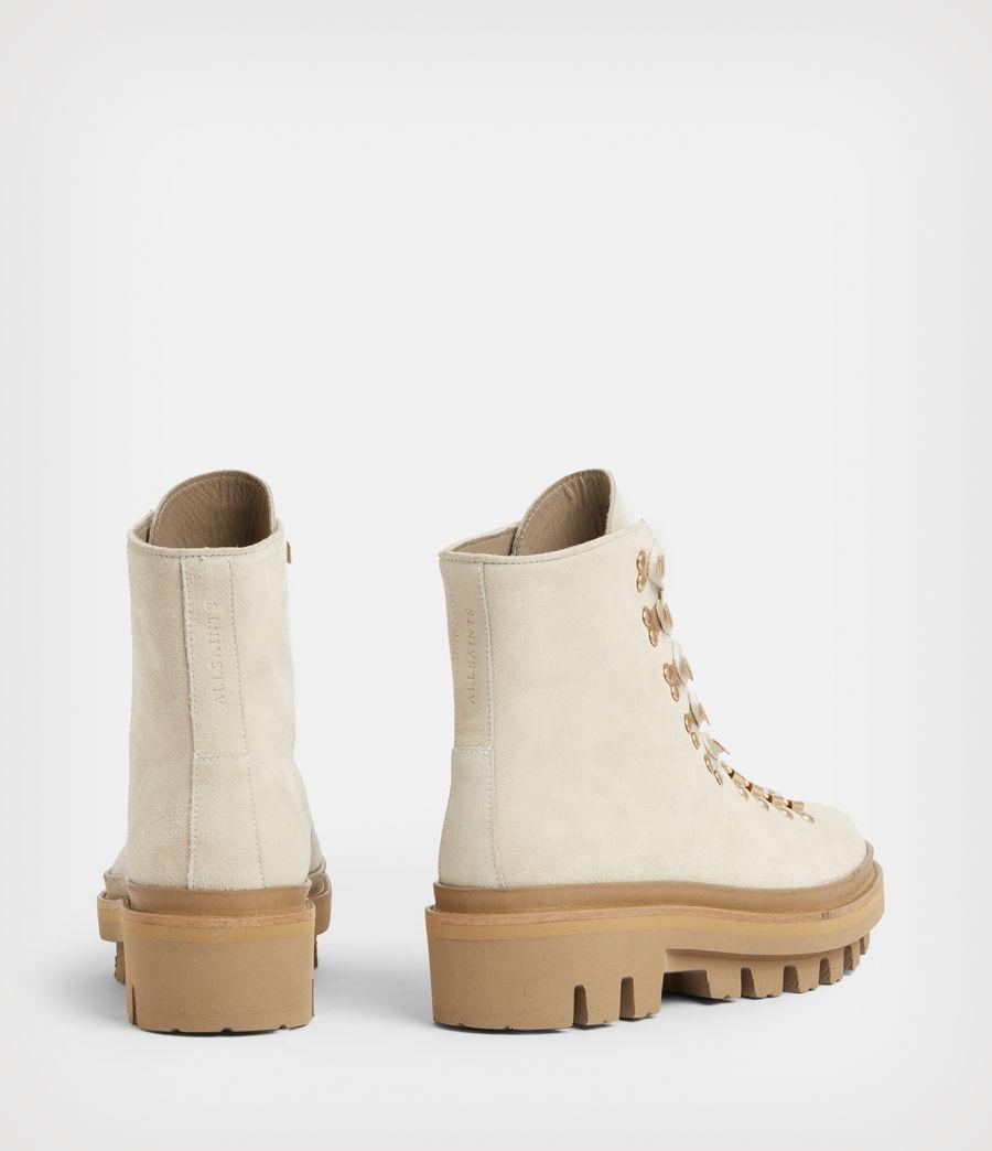Women's Wanda Suede Boots (white) - Image 5
