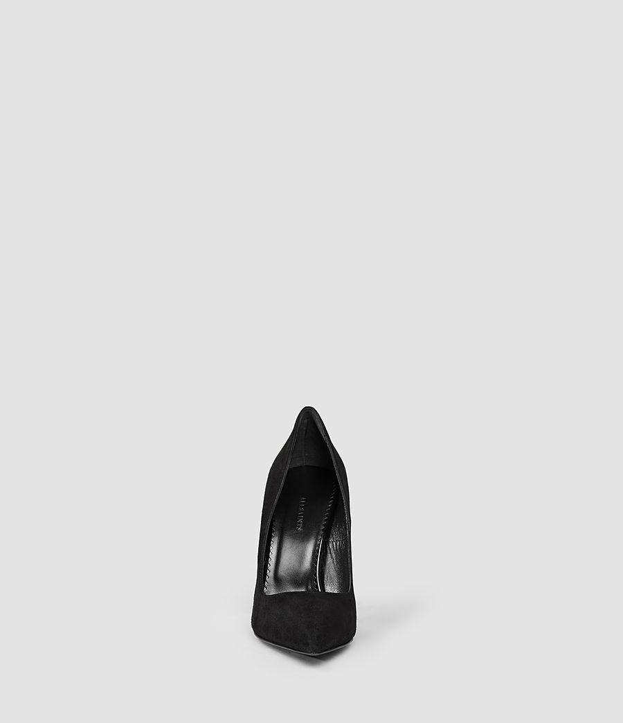 Donne Cubista Pump (suede_black) - Image 2