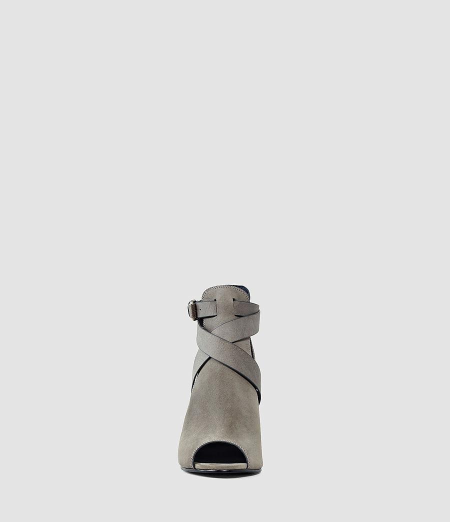 Damen Benny Heel Sandal (dark_grey) - Image 2
