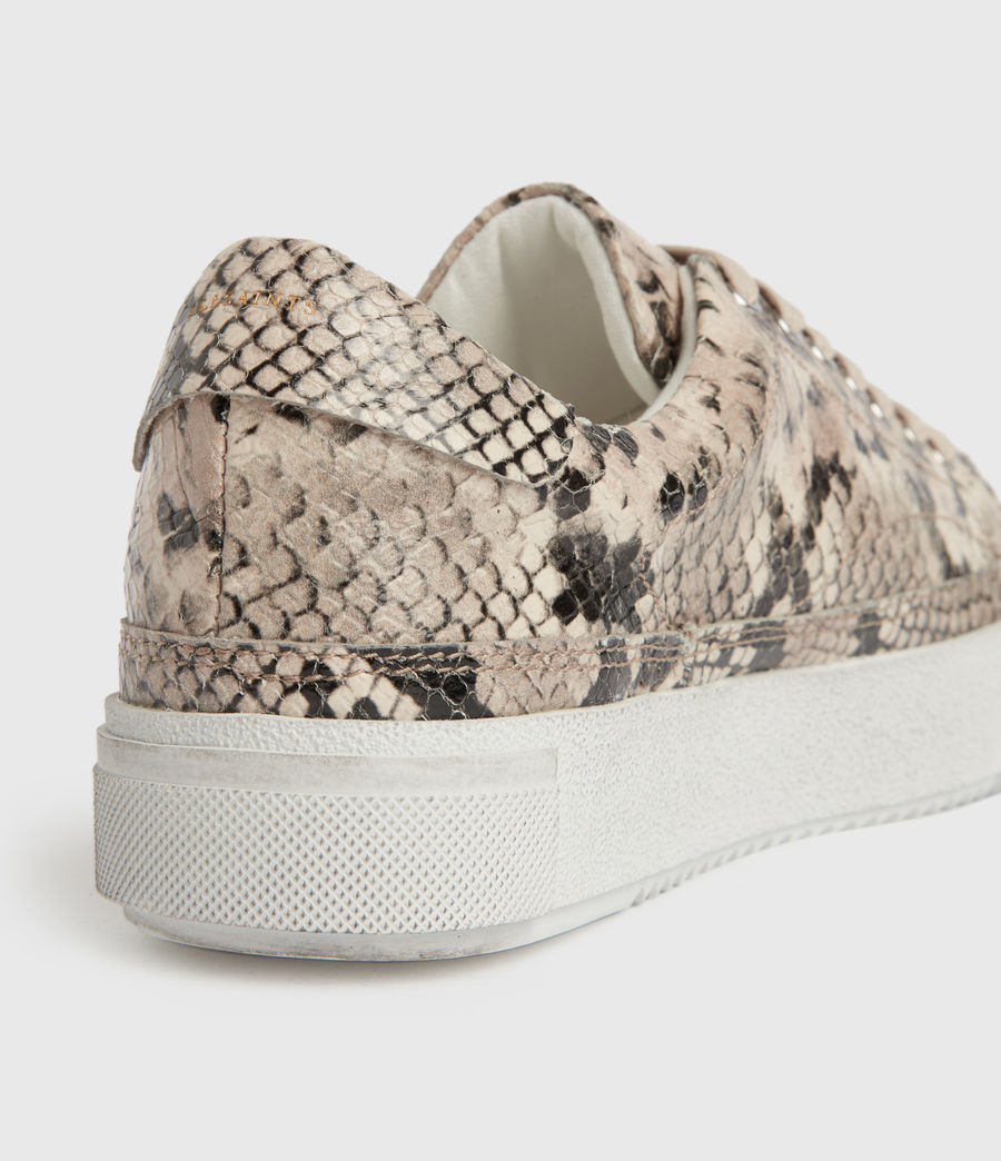 Women's Trish Leather Trainers (blush_pink) - Image 5