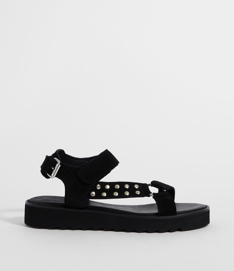 Women's River Sandal (black) - Image 1