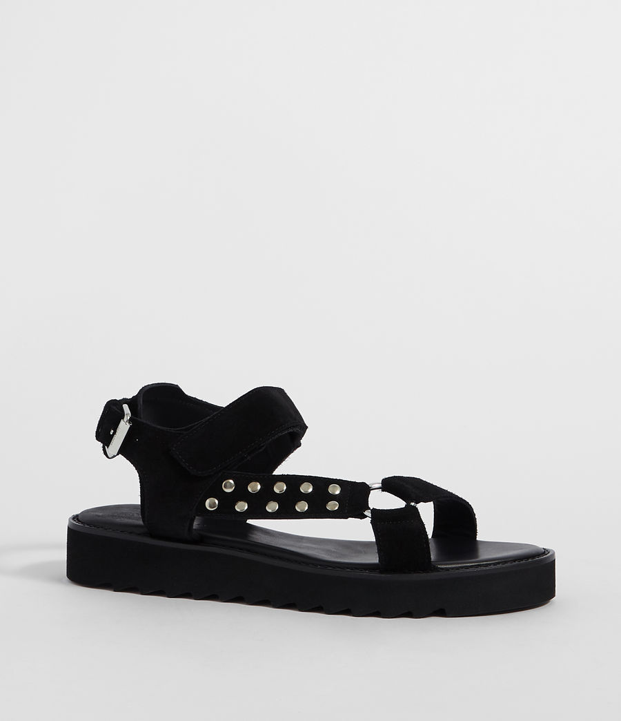 Women's River Sandal (black) - Image 2