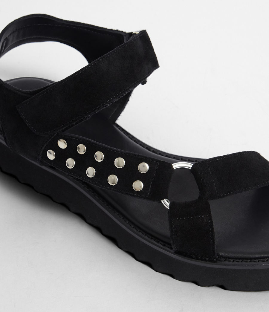 Women's River Sandal (black) - Image 3