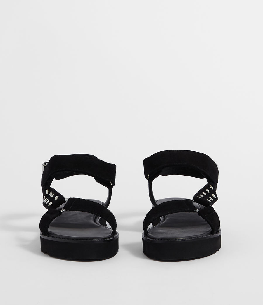 Women's River Sandal (black) - Image 4