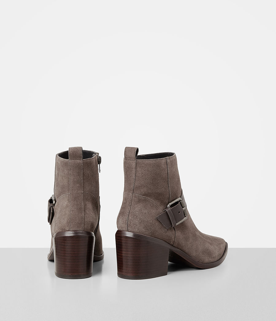Damen Jason Suede Boot (mink) - Image 5