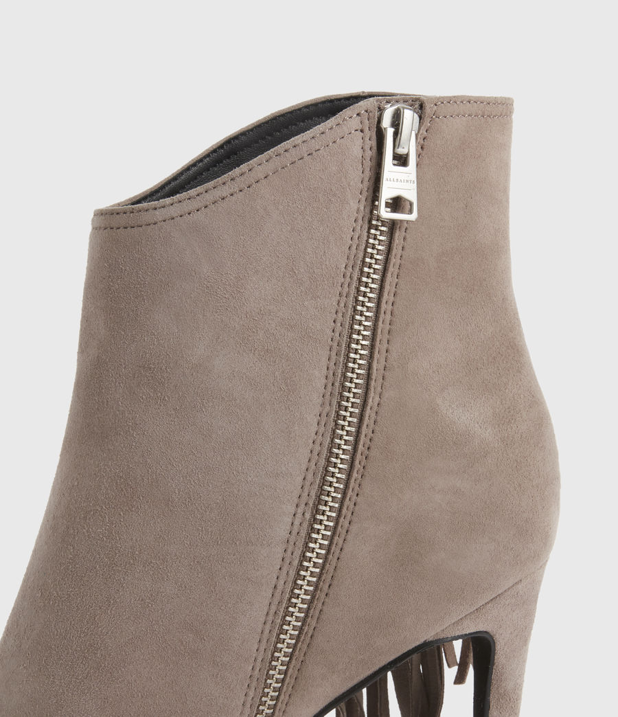 Women's Izzy Suede Boots (taupe) - Image 5