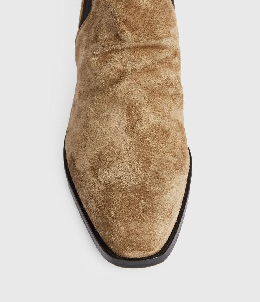 Women's Markus Suede Boots (dark_sand) - Image 2