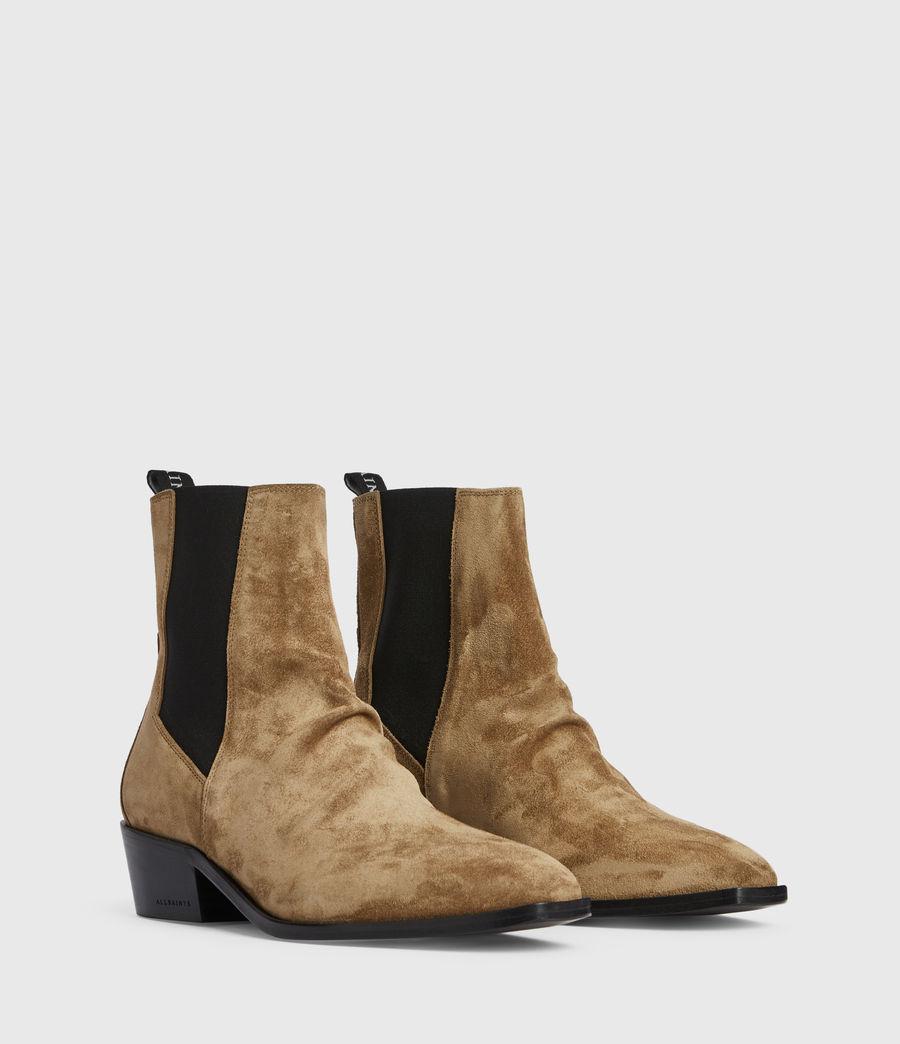 Women's Markus Suede Boots (dark_sand) - Image 3