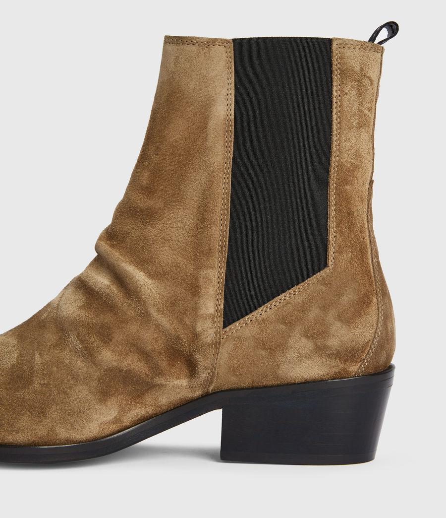 Women's Markus Suede Boots (dark_sand) - Image 4