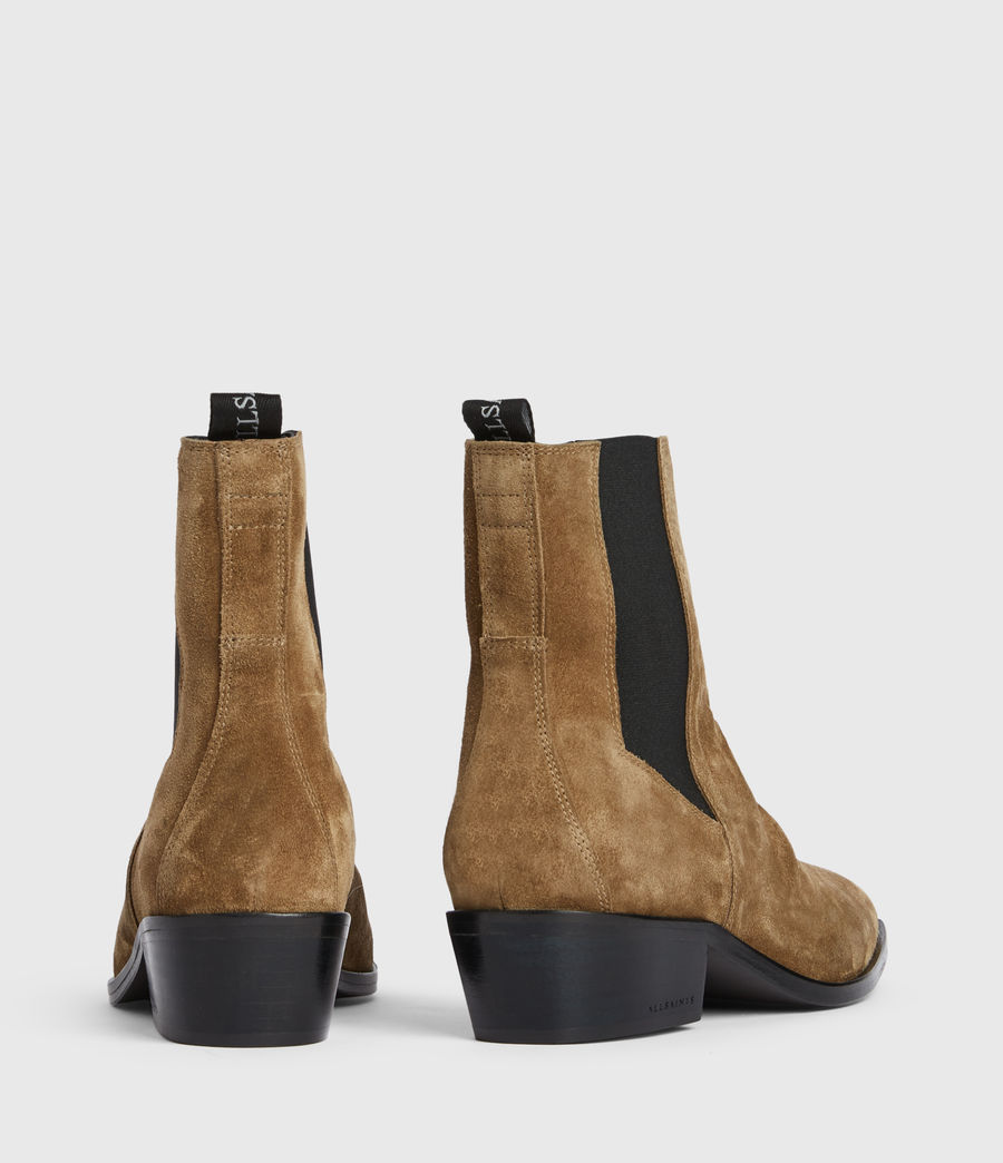 Women's Markus Suede Boots (dark_sand) - Image 5