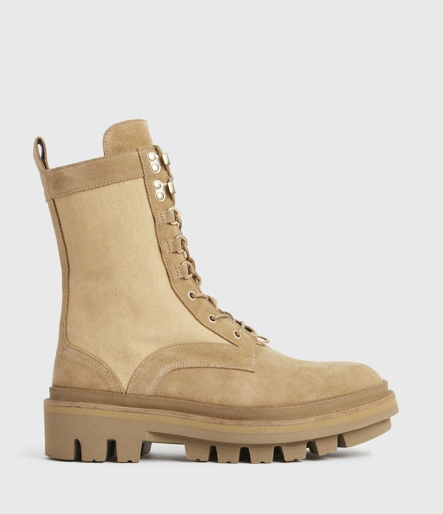 Damen Beth Wildleder Boots (sand) - Image 1