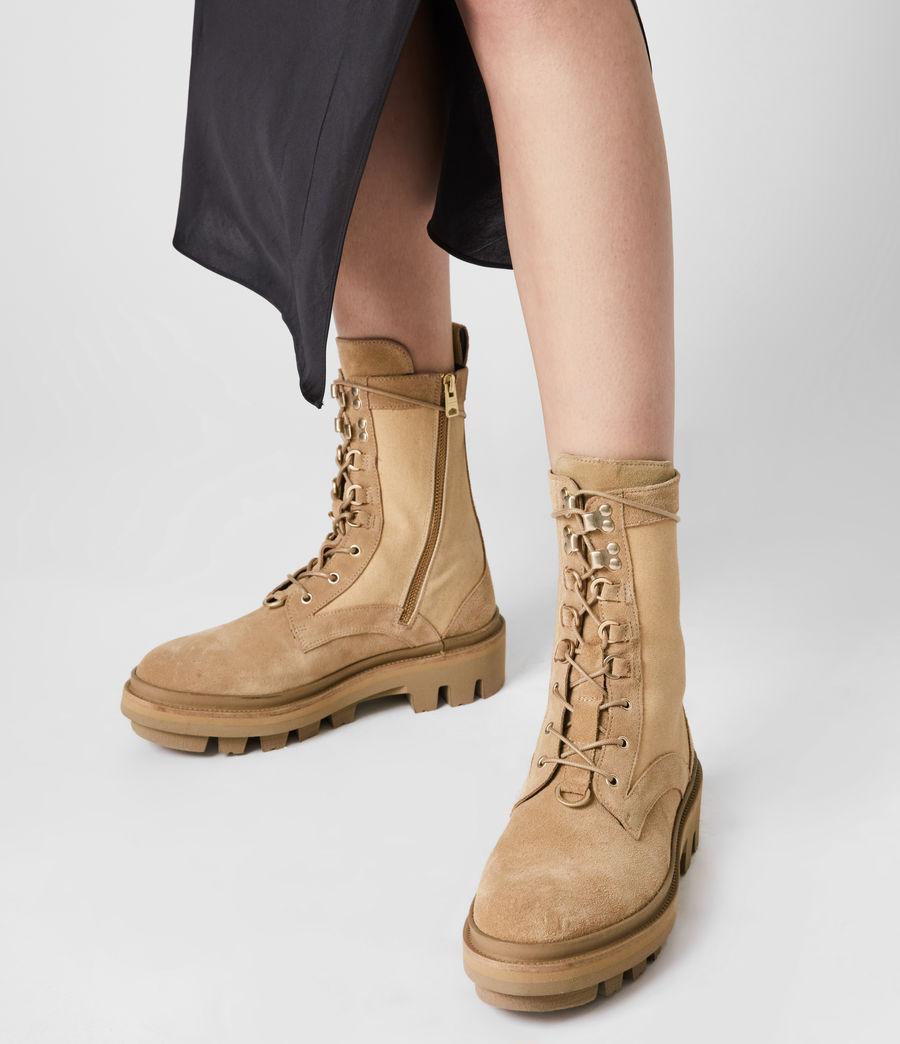 Damen Beth Wildleder Boots (sand) - Image 2