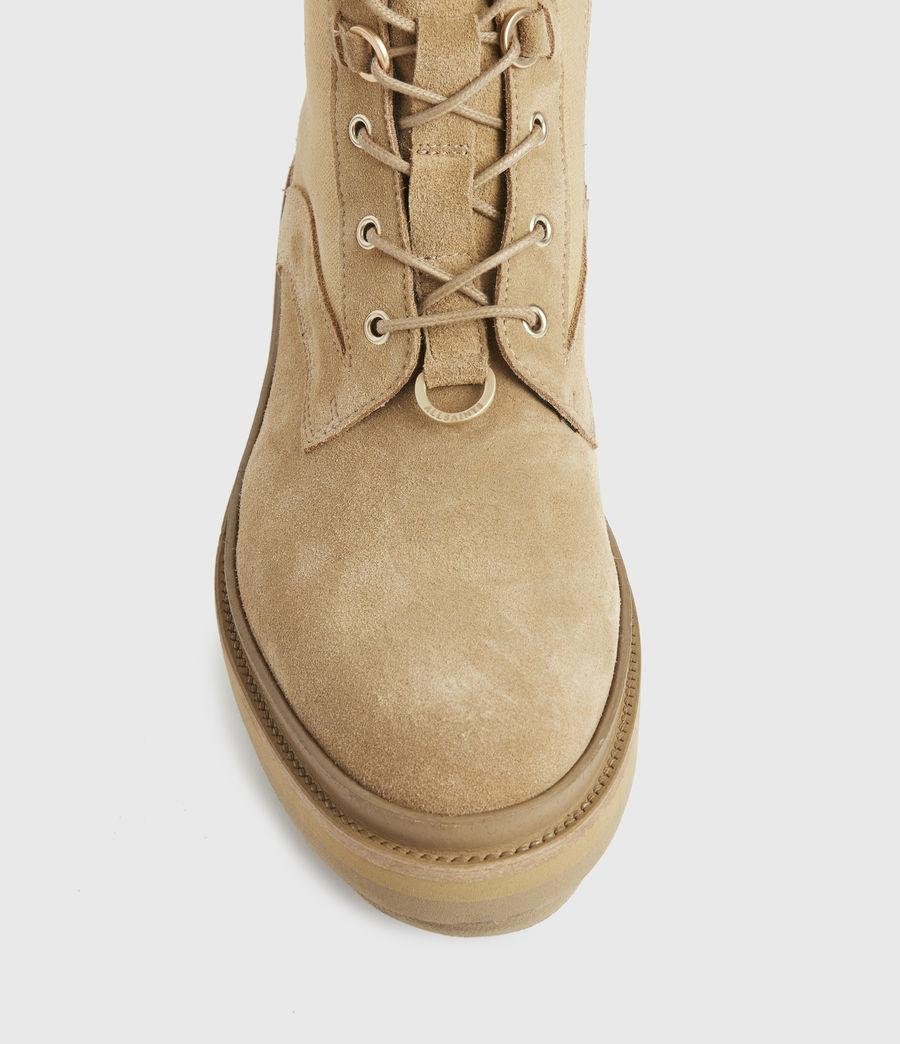 Damen Beth Wildleder Boots (sand) - Image 3