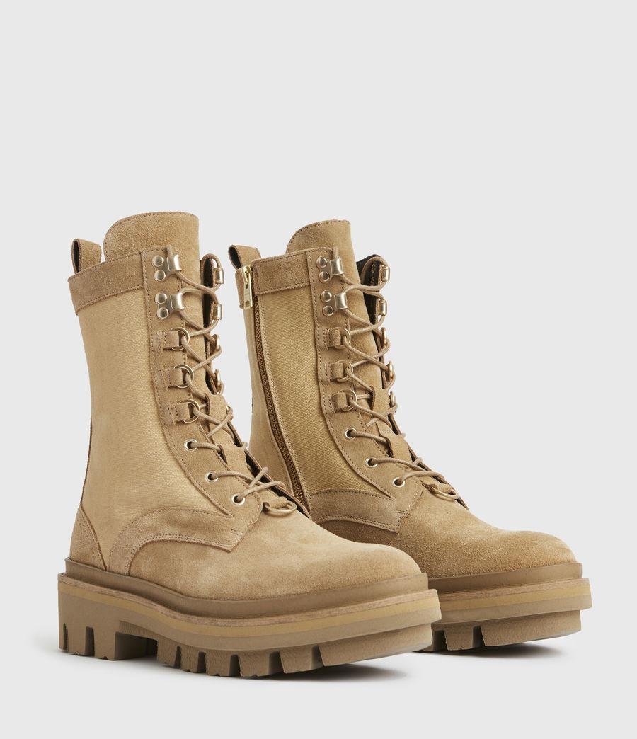 Damen Beth Wildleder Boots (sand) - Image 4