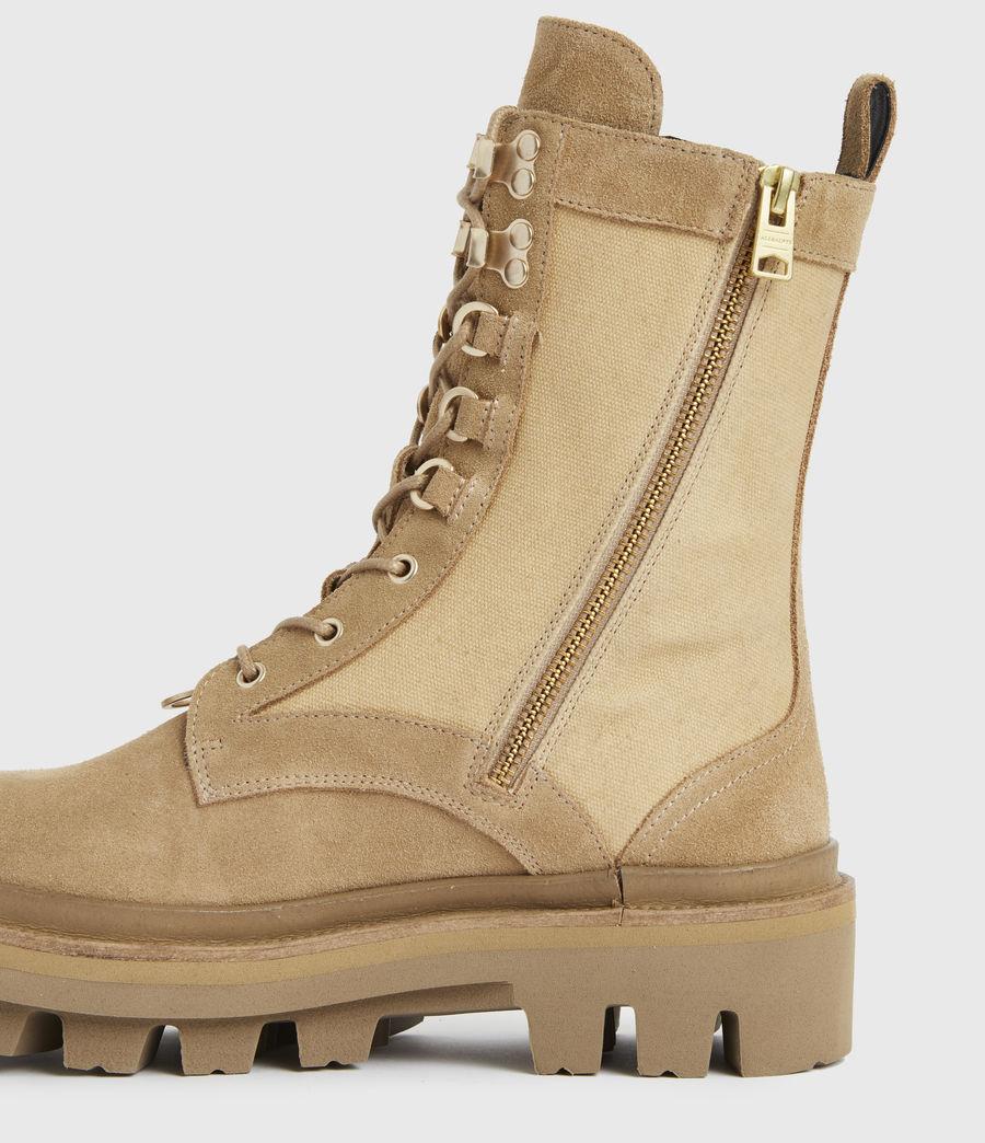 Damen Beth Wildleder Boots (sand) - Image 5
