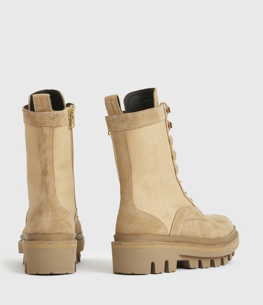 Damen Beth Wildleder Boots (sand) - Image 6