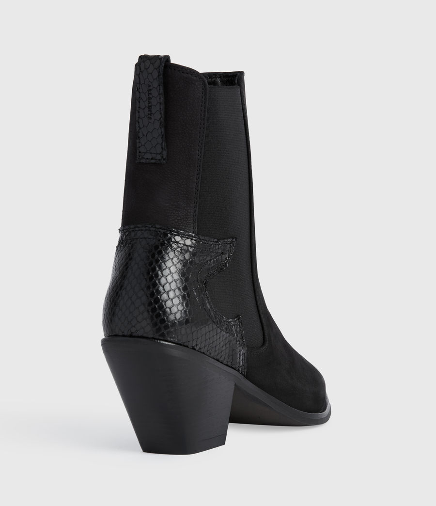 Mujer Sara Suede Boots (black) - Image 2