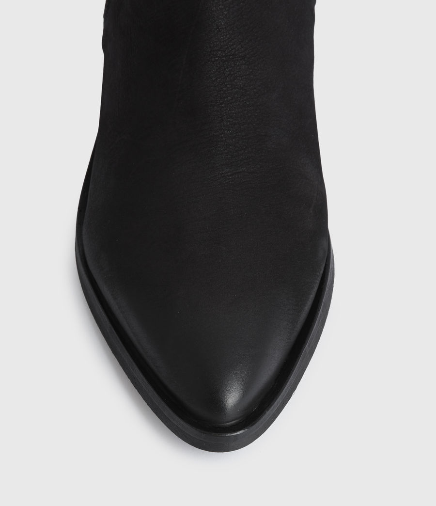 Mujer Sara Suede Boots (black) - Image 4