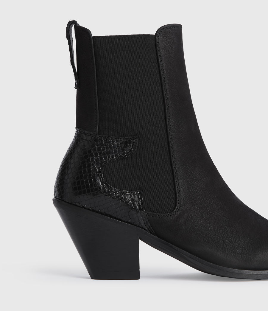Mujer Sara Suede Boots (black) - Image 5