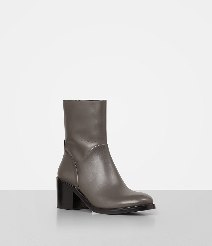 Donne Macarthur Chain Boot (dark_grey) - Image 3