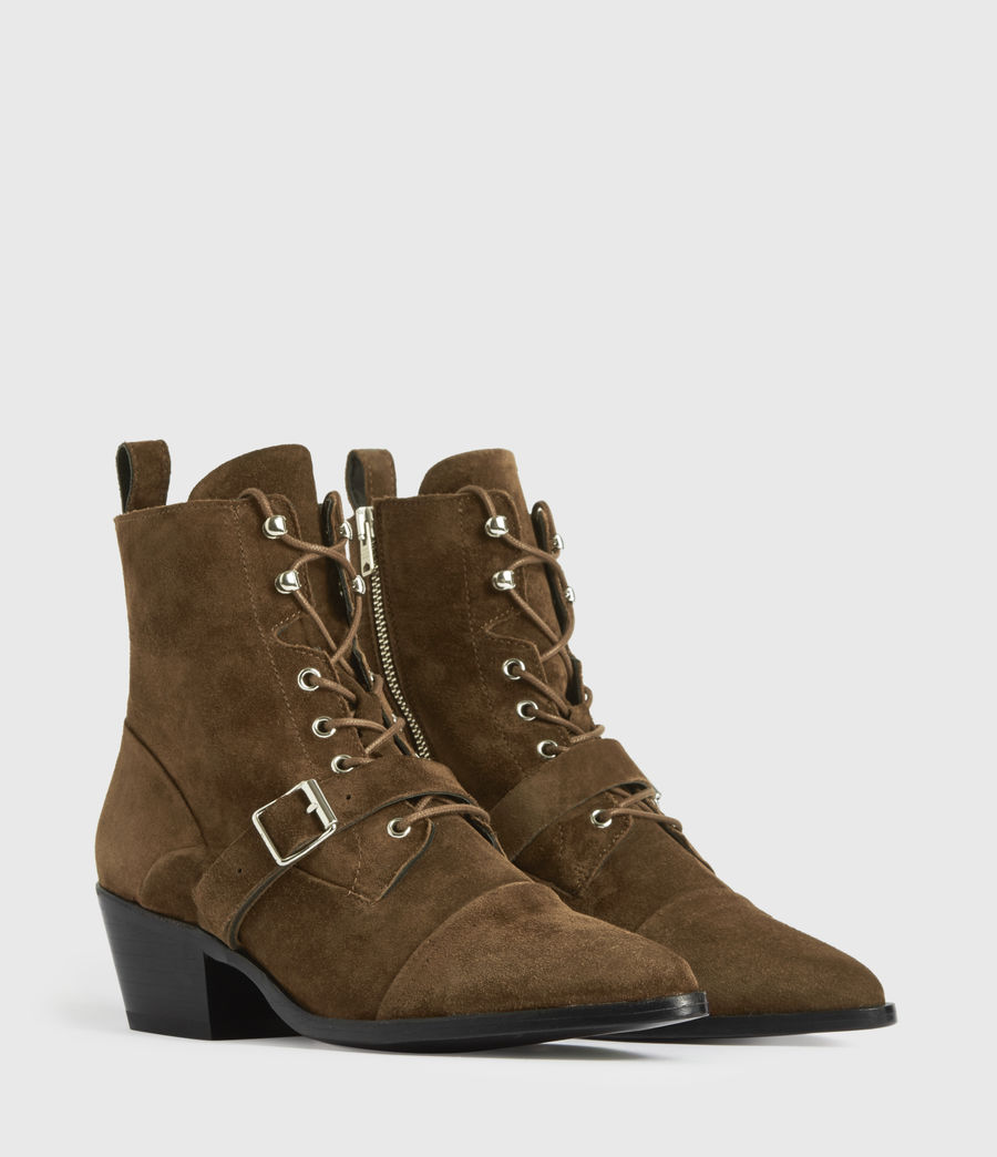 Damen Katy Boots (tan) - Image 3