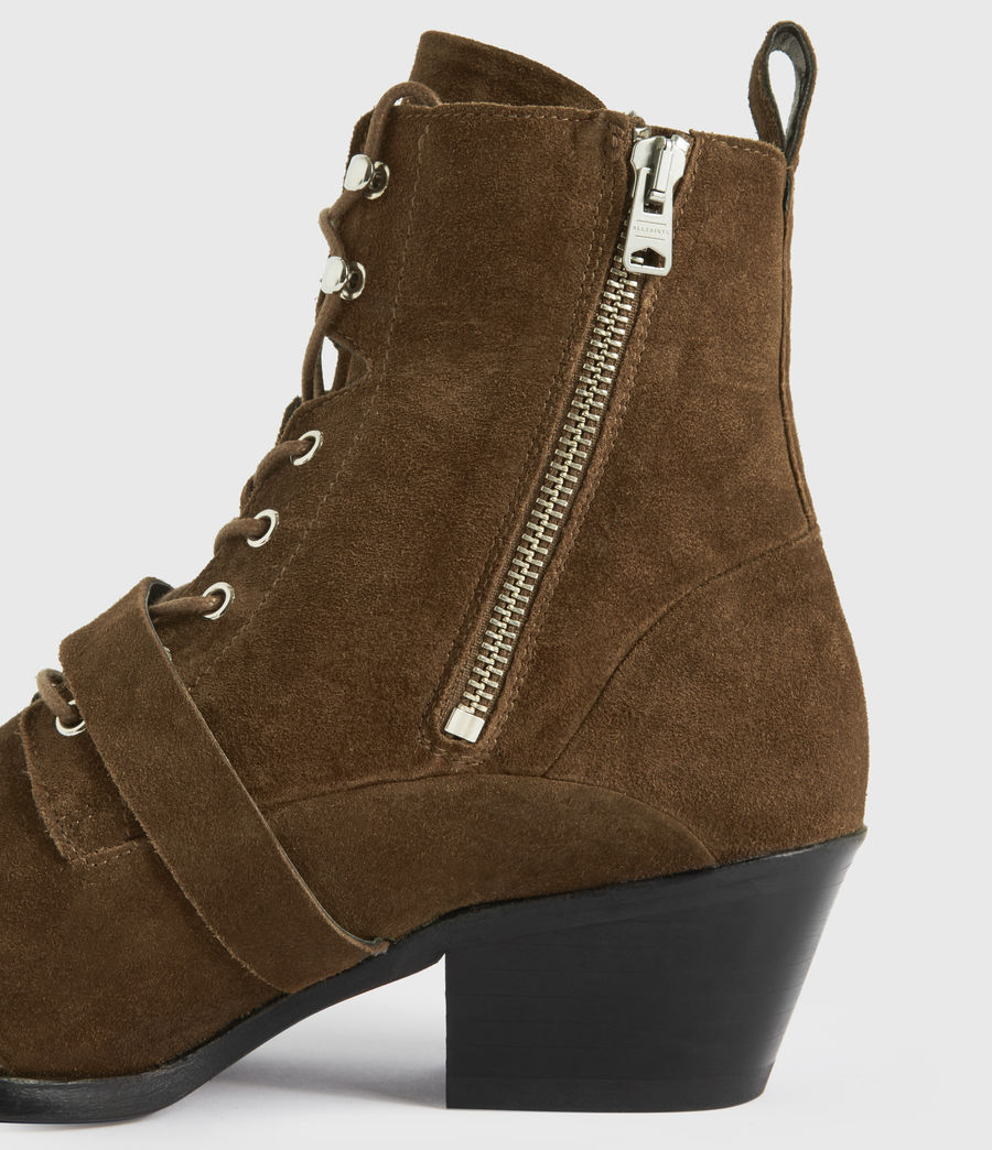 Damen Katy Boots (tan) - Image 4