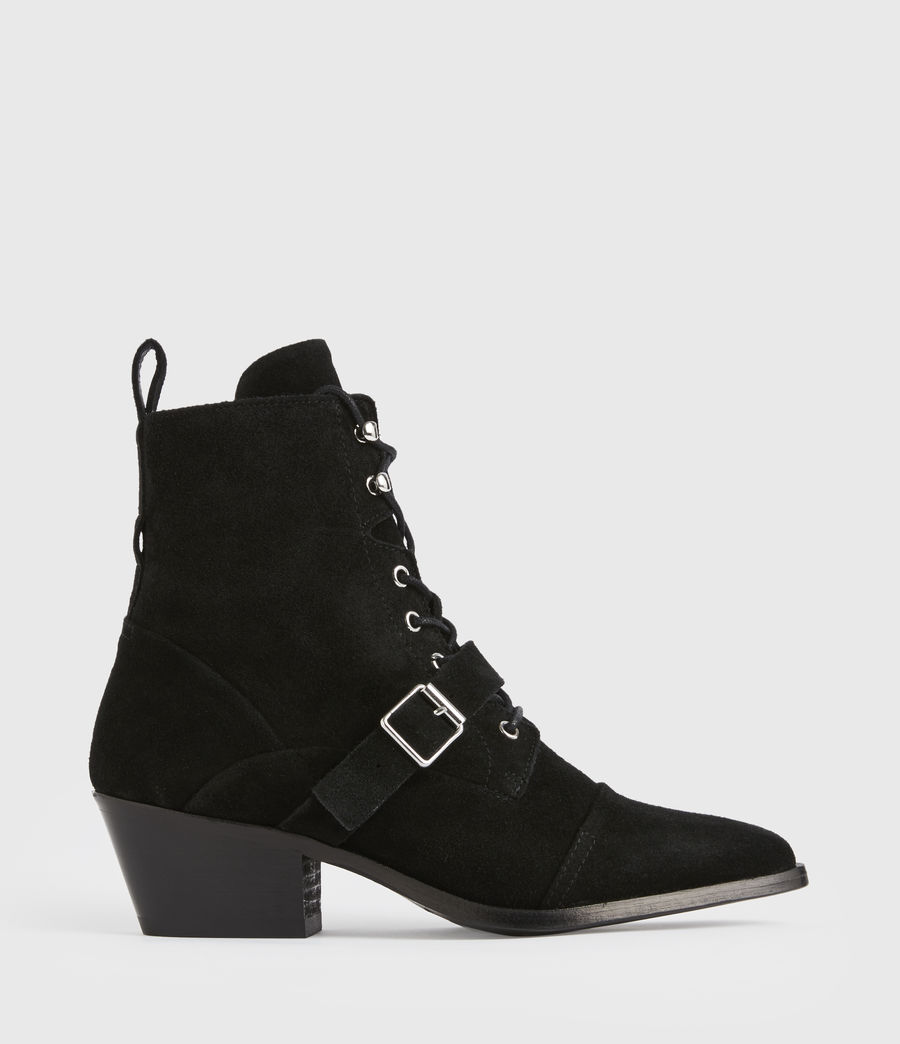 Women's Katy Suede Boots (black) - Image 1