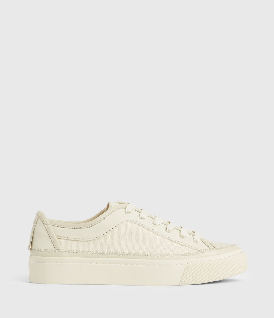 Women's Milla Leather Trainers (off_white) - Image 1