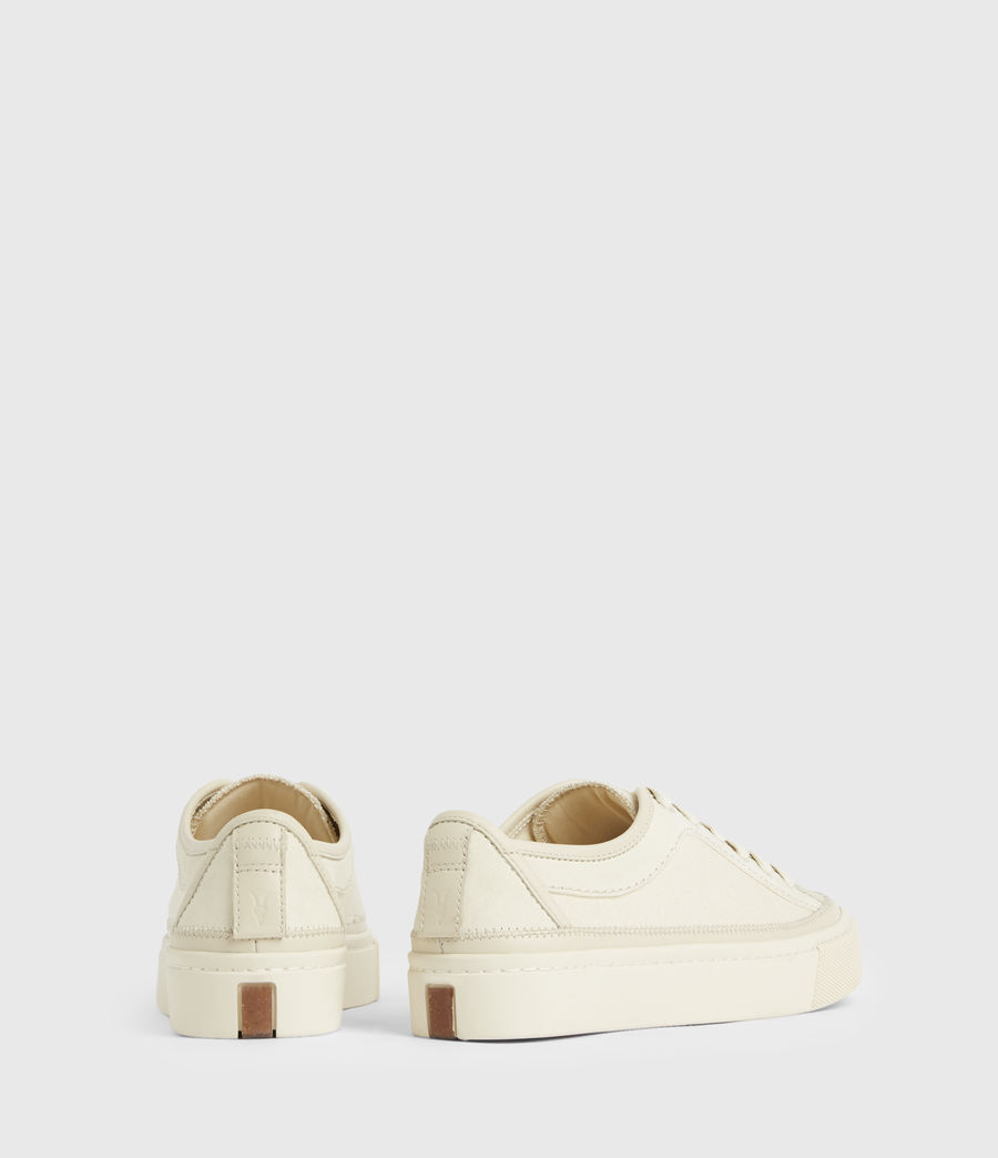 Women's Milla Leather Trainers (off_white) - Image 7