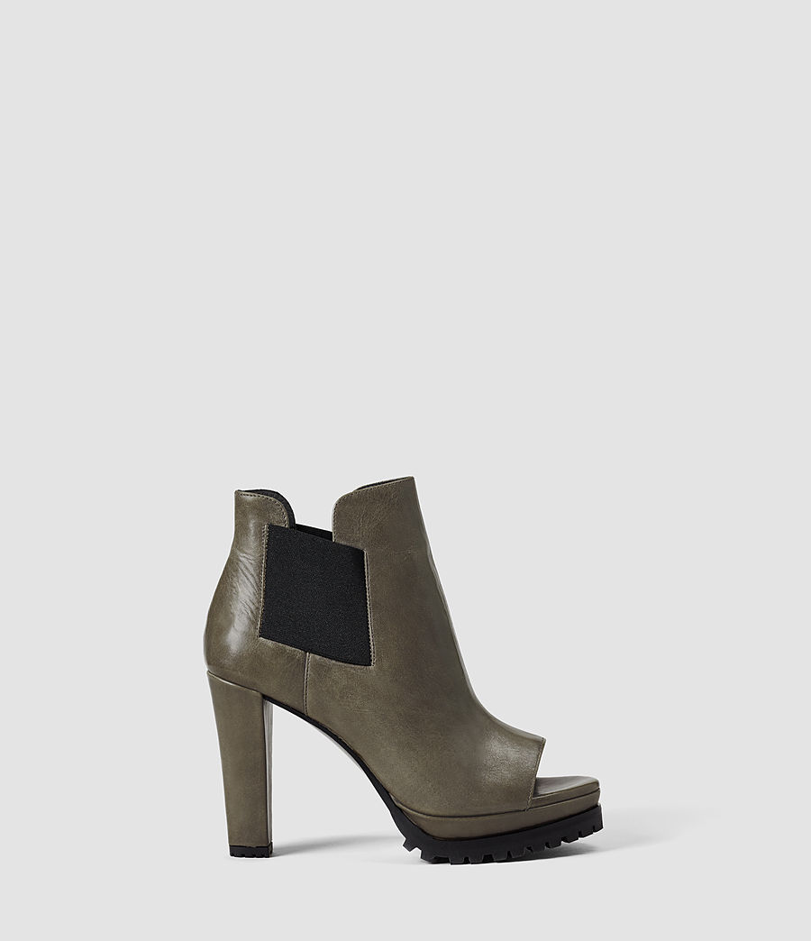Donne Sarris Open Toe Boot (caribou) - Image 1