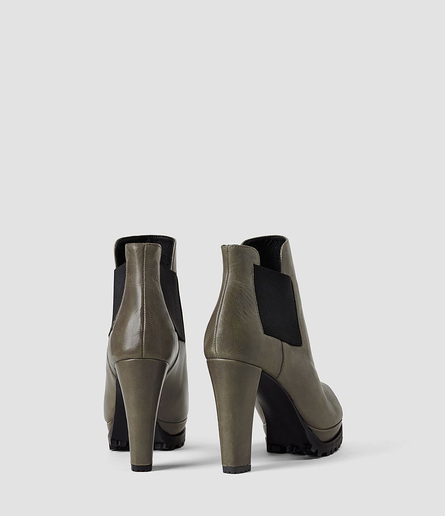 Donne Sarris Open Toe Boot (caribou) - Image 3