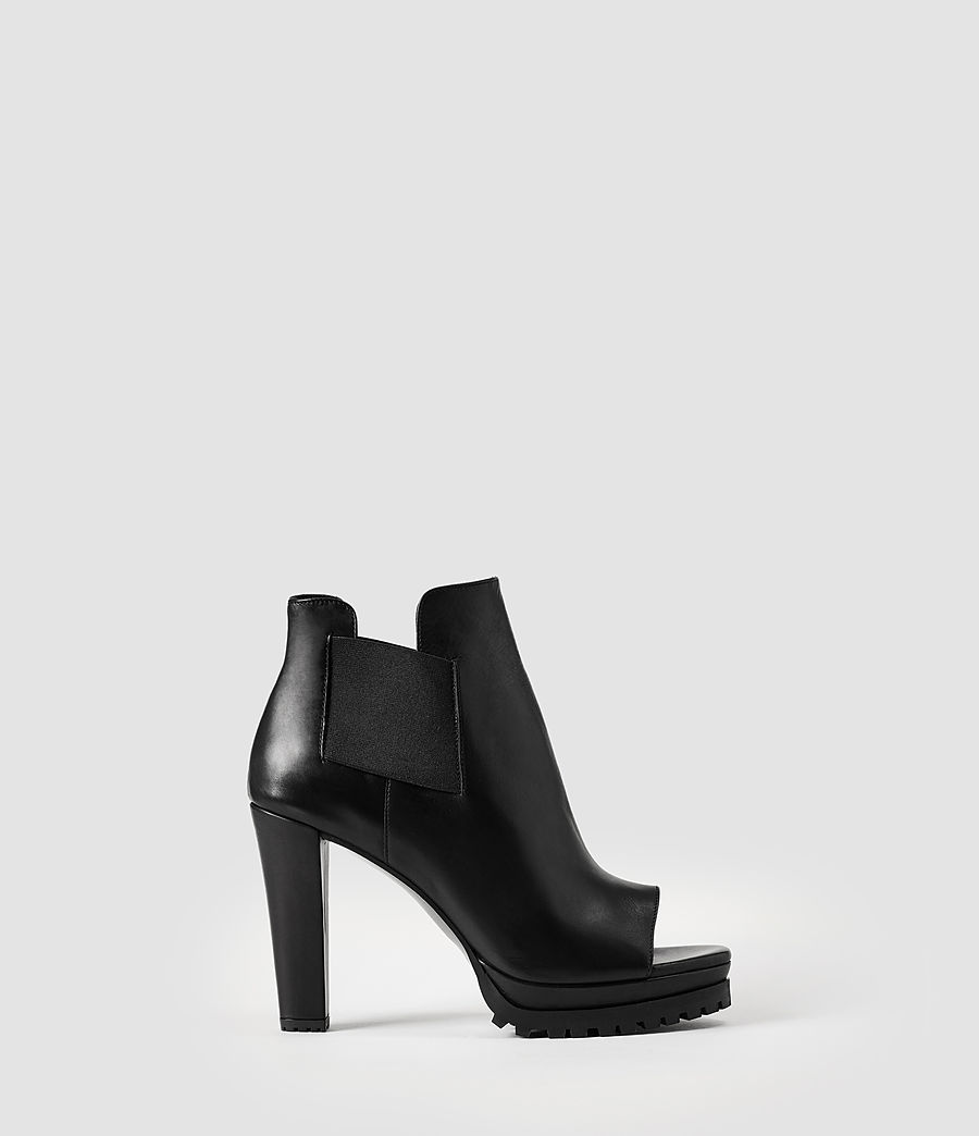 Donne Sarris Open Toe Boot (black) - Image 1