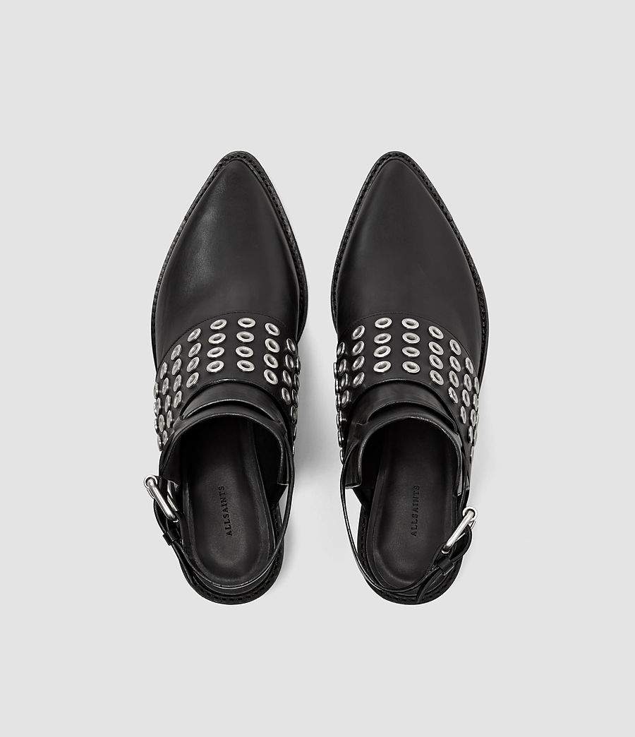 Women's Yannis Shoe (black) - Image 4