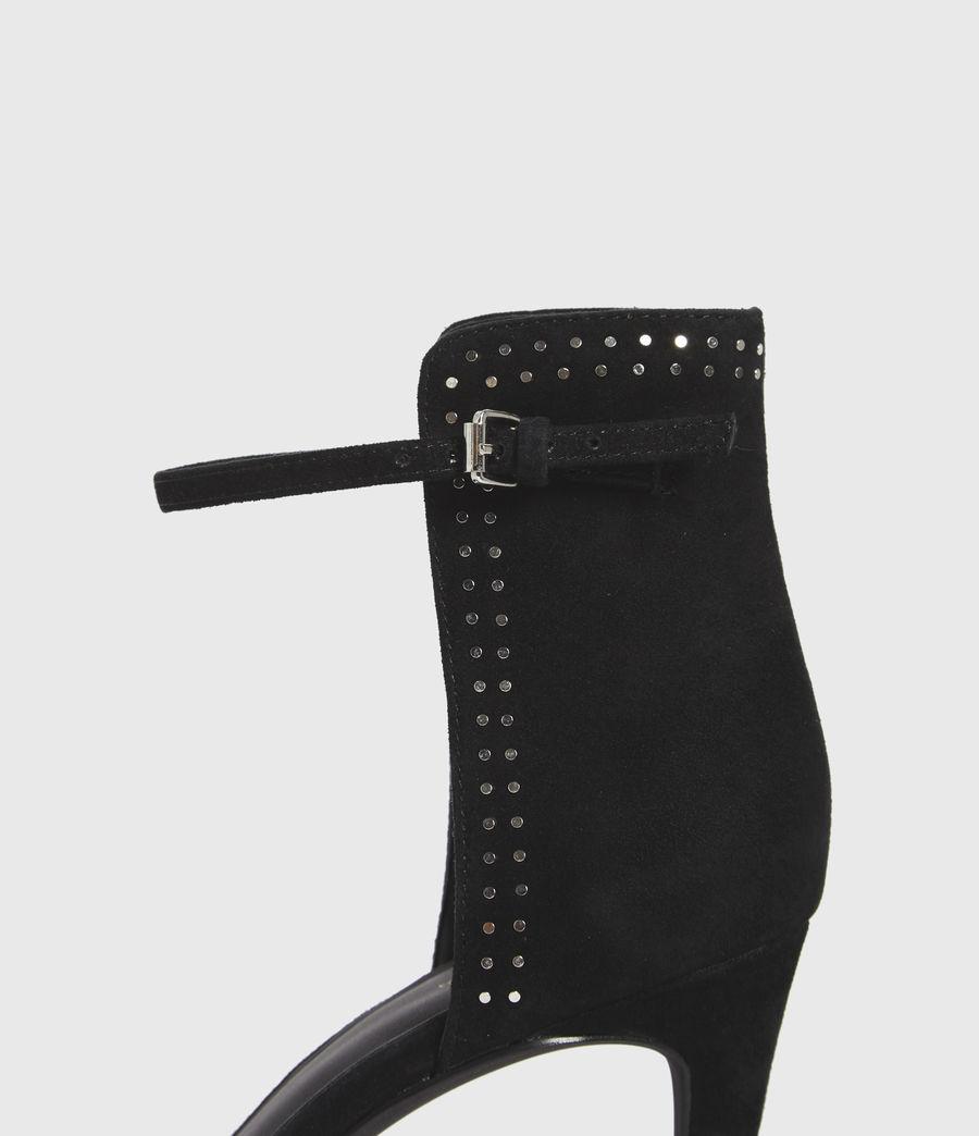 Damen Avia Suede Sandals (black) - Image 2