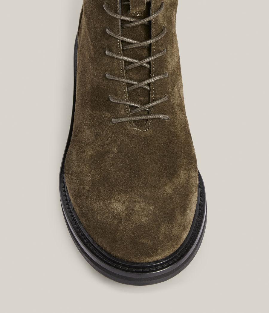 Women's Misty Suede Boots (khaki) - Image 3