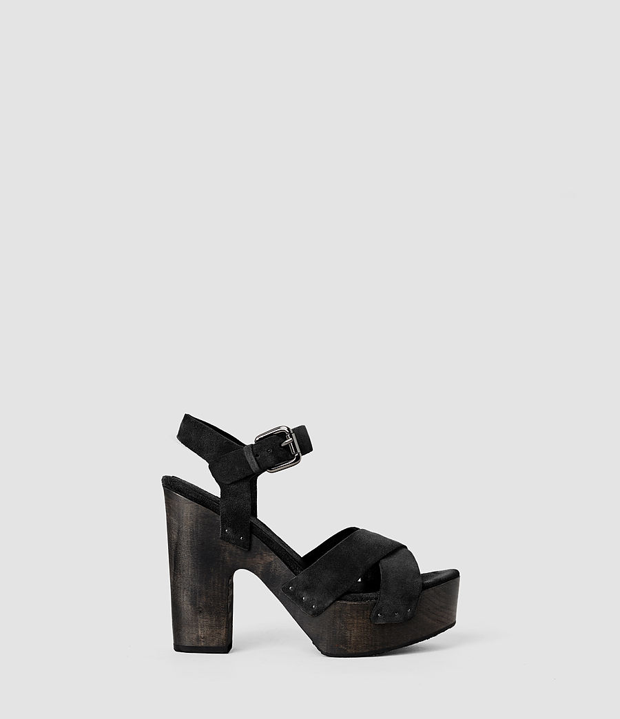 Women's Rees Wedge (black) - Image 1