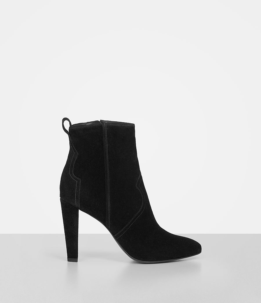 Women's Madlyn Suede Boot (black) - Image 1
