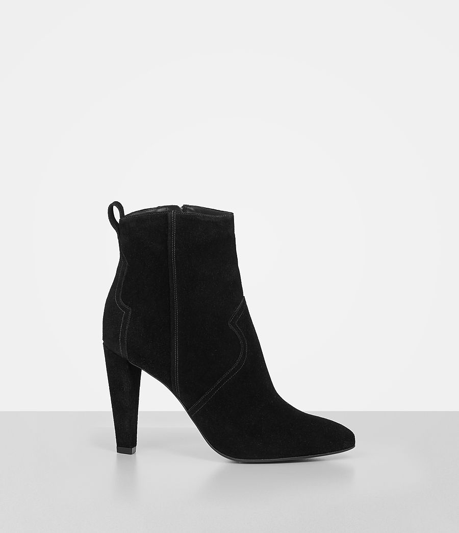 Women's Madlyn Suede Boot (black) - Image 2
