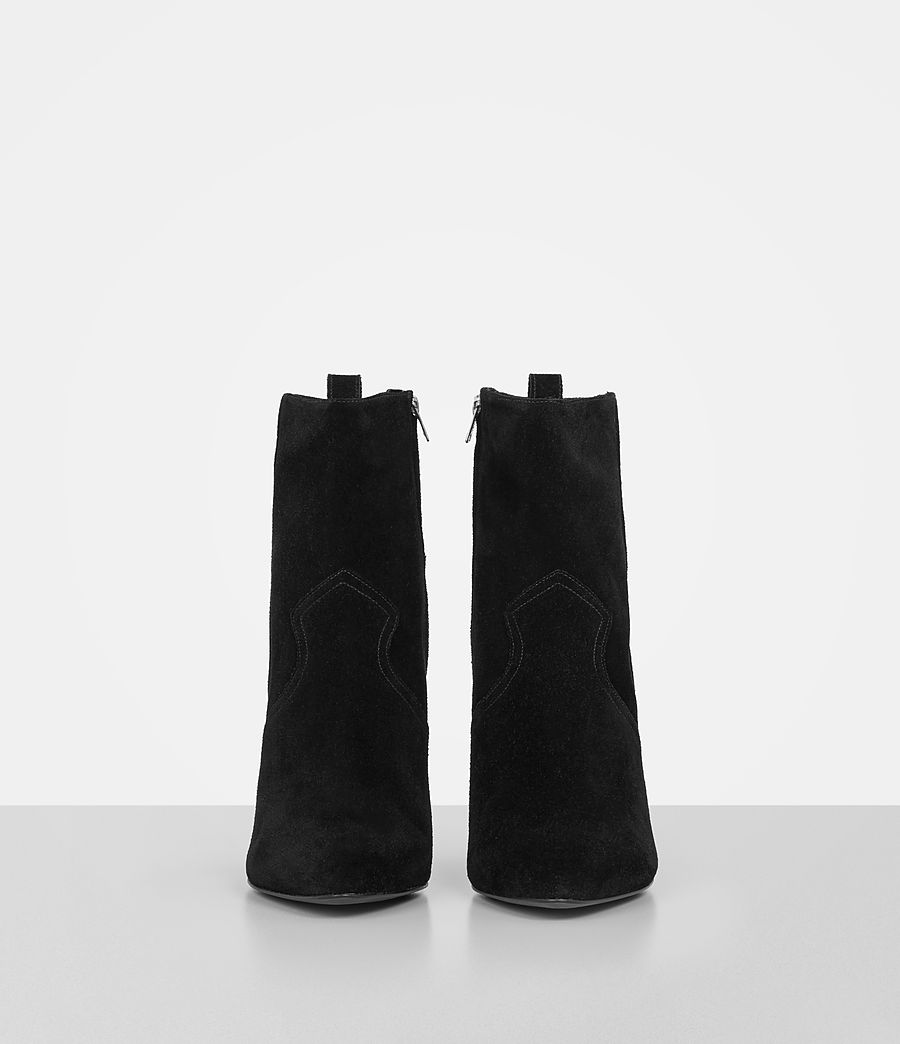 Women's Madlyn Suede Boot (black) - Image 4
