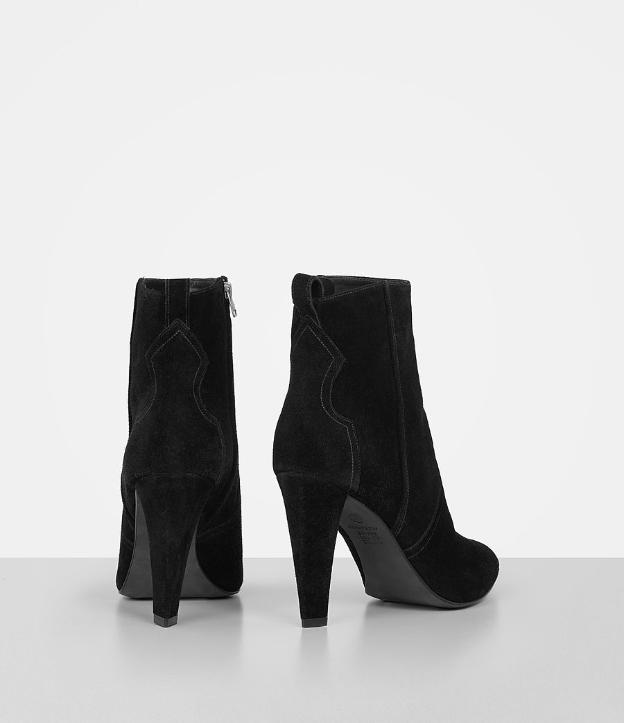 Women's Madlyn Suede Boot (black) - Image 5