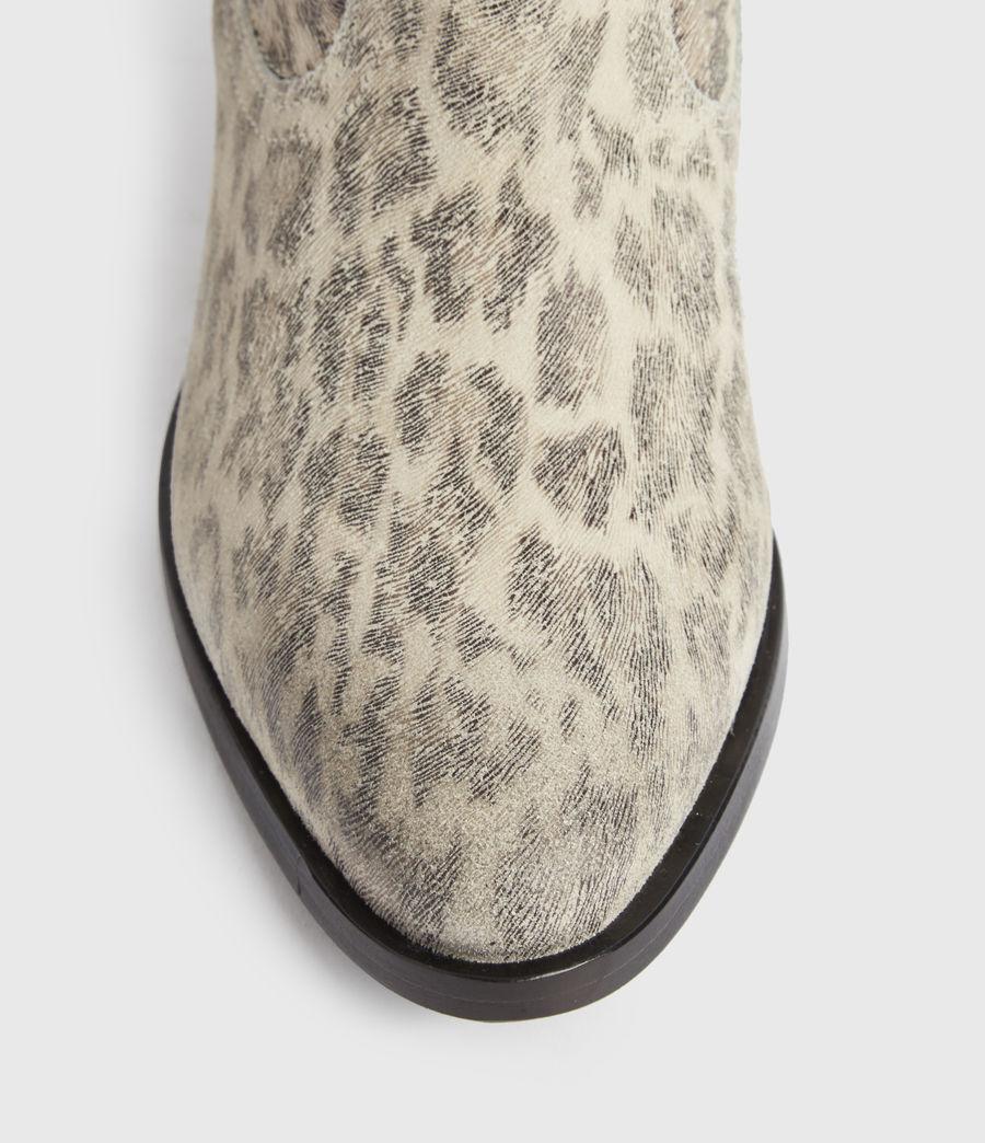 Women's Carlotta Leather Boots (leopard) - Image 2
