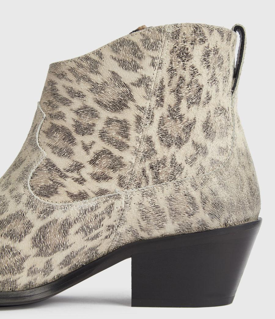 Women's Carlotta Leather Boots (leopard) - Image 4
