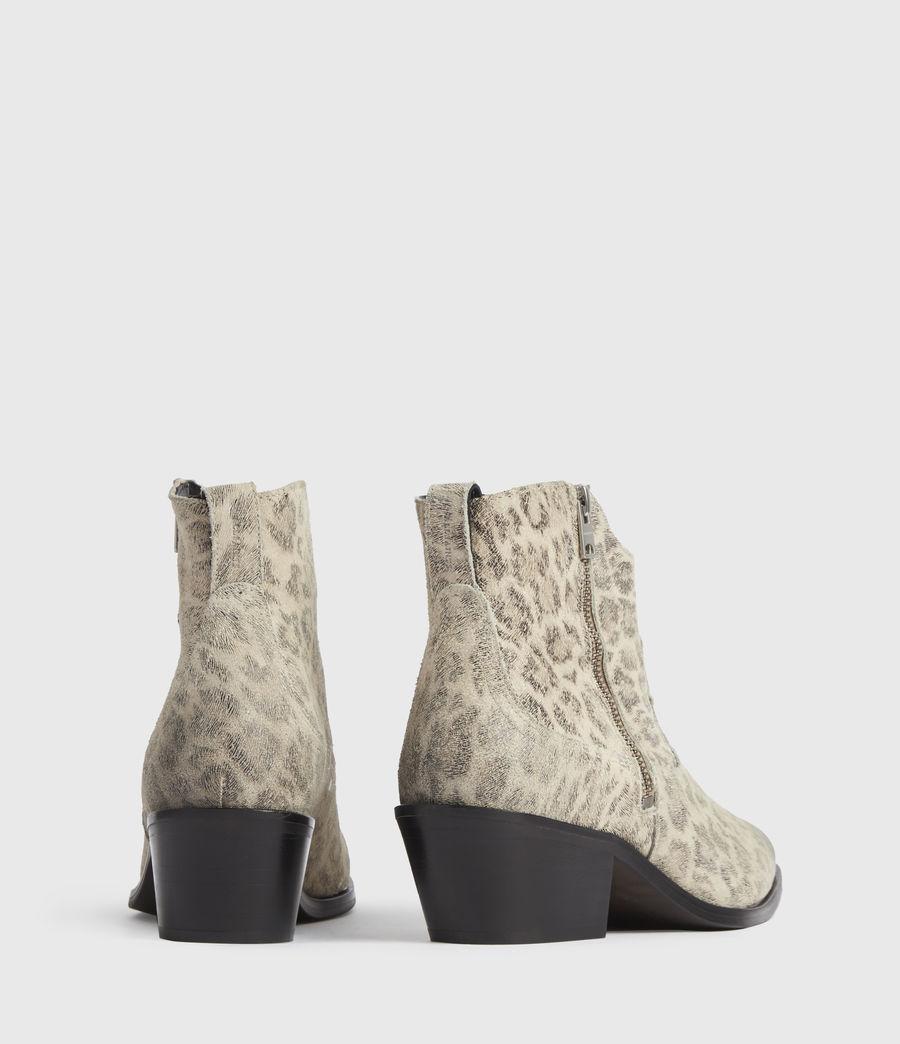 Women's Carlotta Leather Boots (leopard) - Image 5