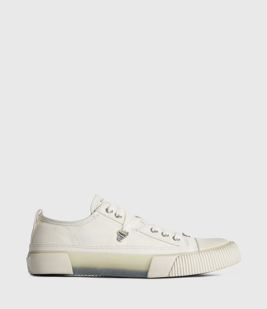 Women's Jazmin Canvas Low Top Trainers (off_white) - Image 1